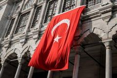 Флаг Турции Стоковое Фото