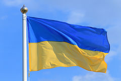 флаг Украина Стоковое Фото