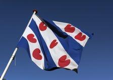 Флаг Фрисландии Стоковое Фото