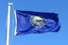 флаг Хемпшир новый Стоковые Изображения