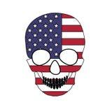 Флаг черепа Стоковые Изображения