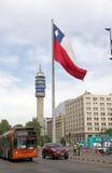 флаг Чили Стоковое фото RF