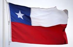 флаг Чили Стоковые Фото