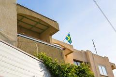 флаг Швеция Стоковые Фотографии RF