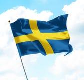 флаг Швеция Стоковое Фото