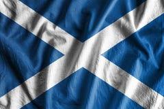 флаг Шотландия Стоковое Фото