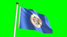 Флаг Южной Дакоты иллюстрация штока