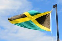 флаг ямайка Стоковое Фото