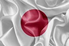 флаг япония Стоковая Фотография RF