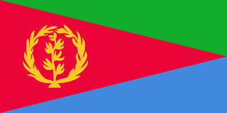 флаг eritrea бесплатная иллюстрация