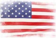 Флаг Grunge Стоковые Изображения
