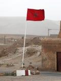 Флаг Moroccon Стоковые Фото