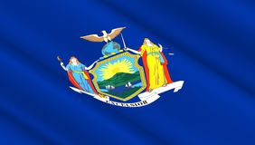 флаг New York Стоковое фото RF