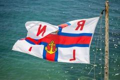 Флаг RNLI Стоковая Фотография