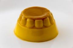 Флан карамельки creme заварного крема Стоковые Изображения RF