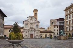 Флоренс: Аркада Organissanti Стоковые Фотографии RF