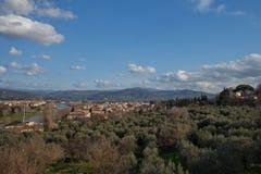 Флоренс: Ландшафт: Стоковое Фото