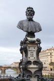 Флоренс: Памятник: Benvenuto Cellini Стоковые Фотографии RF
