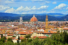 Флоренс, di Santa Maria del Fiore базилики Стоковое Фото