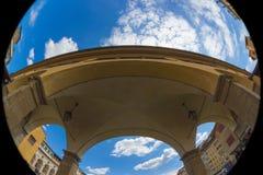 Флоренс, Ponte Vecchio, голубой час Стоковая Фотография RF