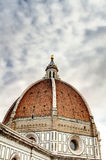 Флоренс: Santa Maria del Fiore Купол HDR Стоковые Изображения RF