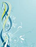 Флористическая абстрактная конструкция Стоковое Фото