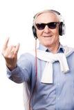 флористическая акварель рок-звезды орнамента микрофона grunge Стоковая Фотография
