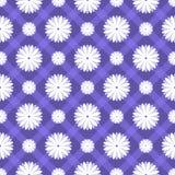 Флористическая безшовная картина. Иллюстрация вектора Стоковое Изображение RF