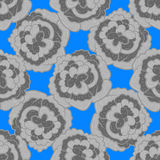 Флористическая безшовная картина с розами Стоковые Изображения RF