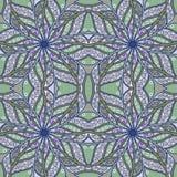 Флористическая безшовная предпосылка Стоковая Фотография RF