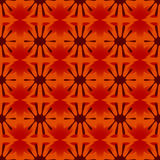 Флористическая геометрическая картина безшовная Стоковые Фото