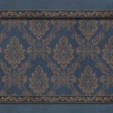 Флористическая голубая предпосылка обоев Стоковое Изображение