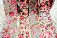 Флористическая лента стоковое фото rf