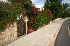 Флористическая загородка Стоковые Изображения RF