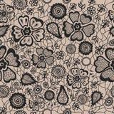 флористическая картина безшовная также вектор иллюстрации притяжки corel Стоковое Изображение RF