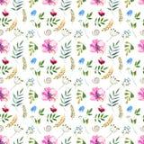 флористическая картина безшовная Стоковая Фотография