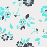флористическая картина безшовная Стоковое Изображение RF