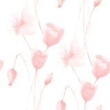 флористическая картина безшовная бесплатная иллюстрация