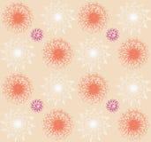 Флористическая картина вектора Стоковая Фотография RF