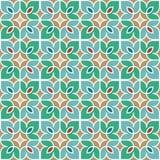 Флористическая морокканская картина мозаики Стоковые Изображения