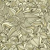флористическая орнаментальная безшовная картина Стоковое Фото