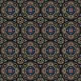 флористическая орнаментальная картина круглая Стоковые Фото