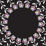 Флористическая предпосылка, картина иллюстрация штока