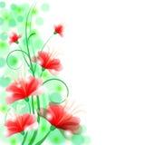Флористическая предпосылка иллюстрация вектора