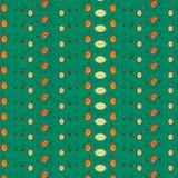 Флористическая темная ая-зелен картина Стоковые Изображения RF