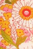 Флористическая ткань цветков Стоковые Изображения RF