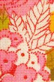 Флористическая ткань цветков Стоковое Изображение