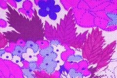 Флористическая ткань цветков Стоковая Фотография