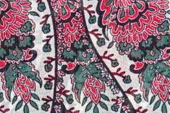 Флористическая ткань стоковая фотография rf