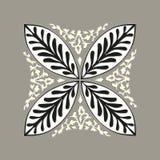 Флористическая традиционная мозаика Стоковая Фотография RF